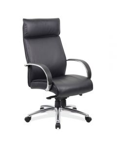 Office Source Prestige Collection: Black High Back Executive Chair